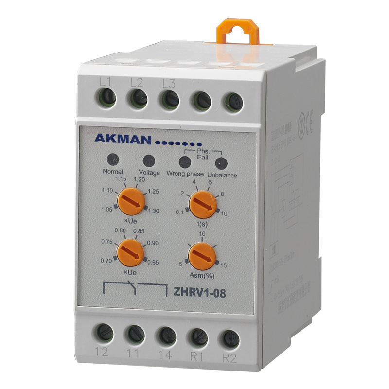 Electromechanical Motor Protective Relay With Overvoltage Monitoring,Undervoltage Monitoring