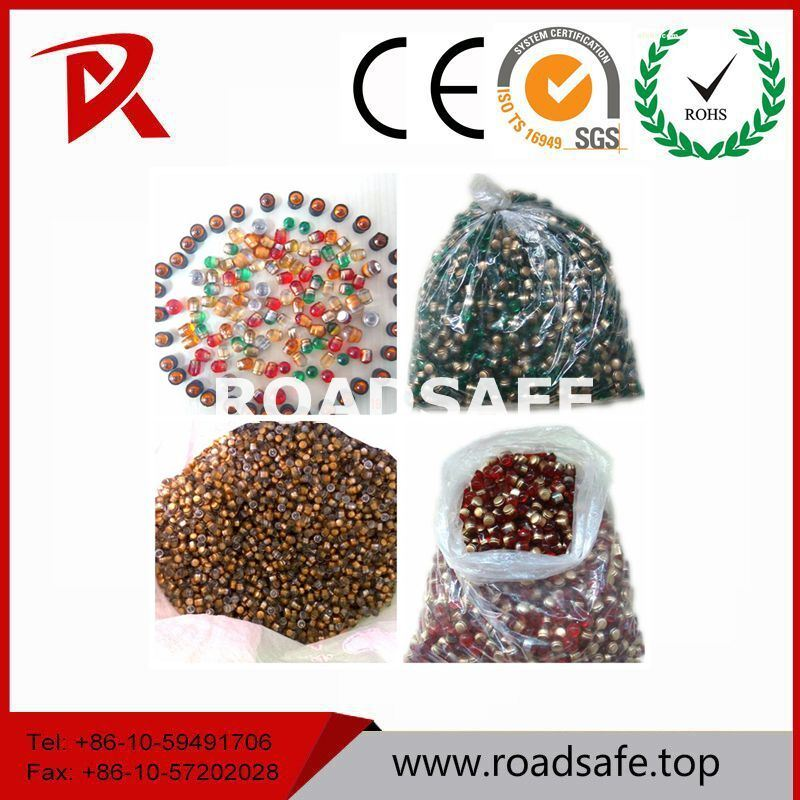 Glass Beads Road Stud Cat Eye Road Marker Reflector