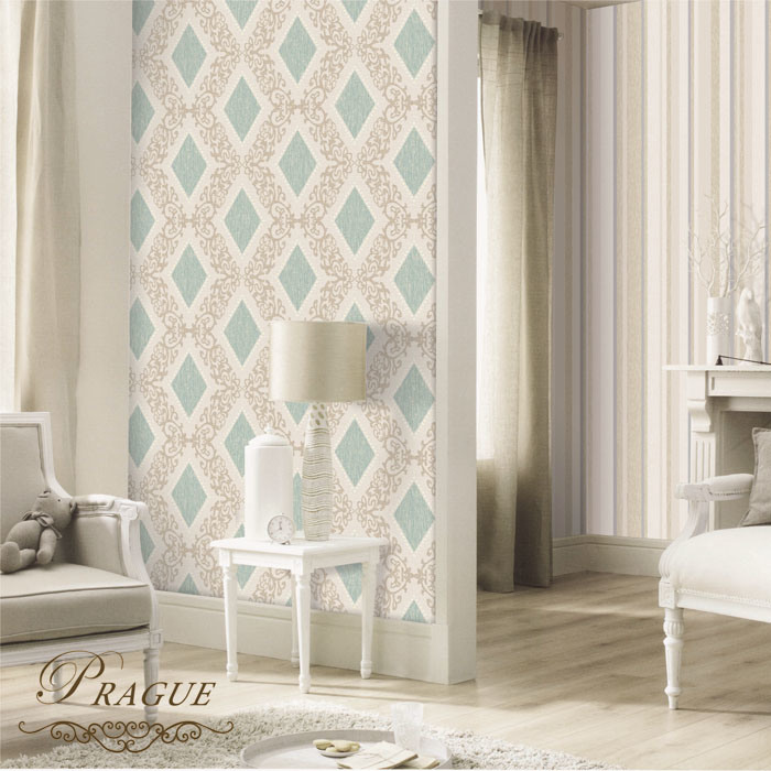 China Home Decor Eco Friendly Material Vinyl Wallpaper For