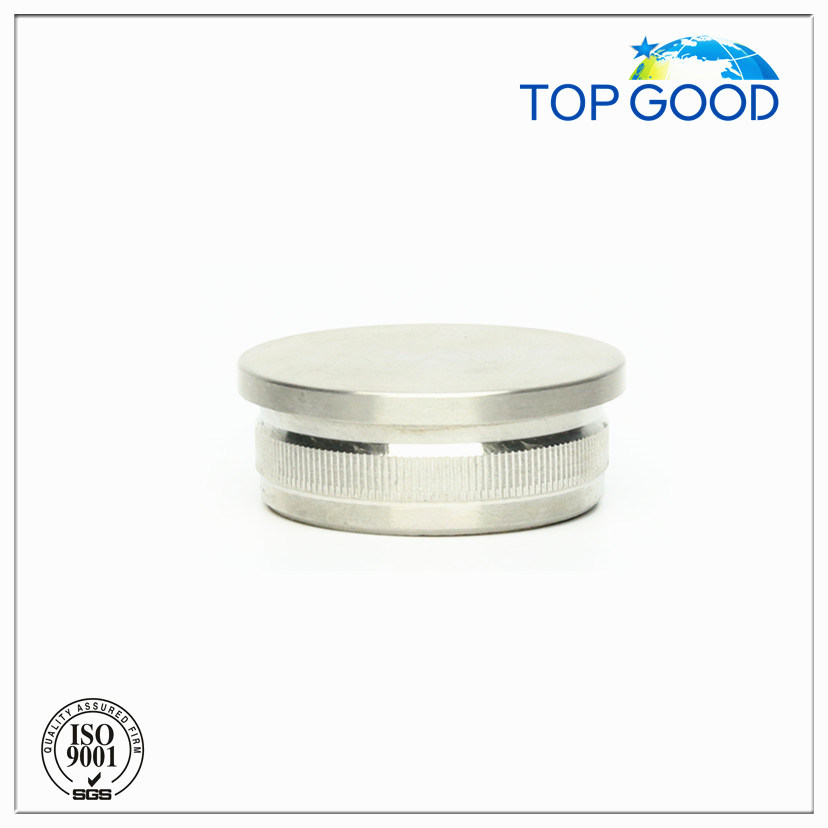 Stainless Steel Flat Solid End Cap (60100)