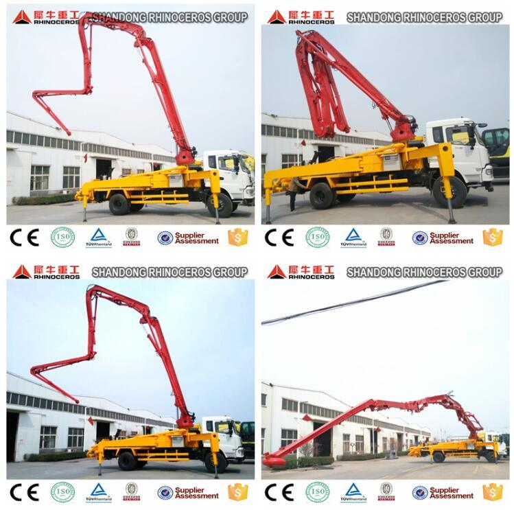 High Quality Truck Mounted Concrete Pump, Hydraulic Pump Concrete, Concrete