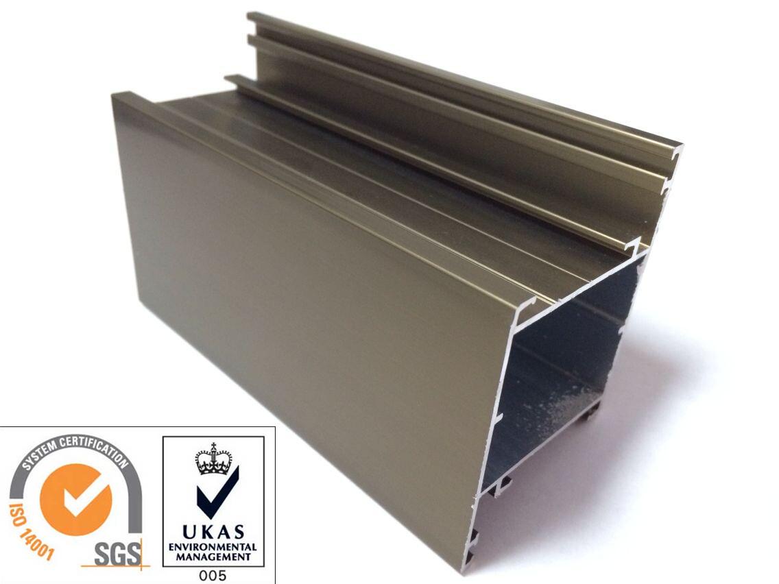 Champange Anodized Aluminum Extrusion