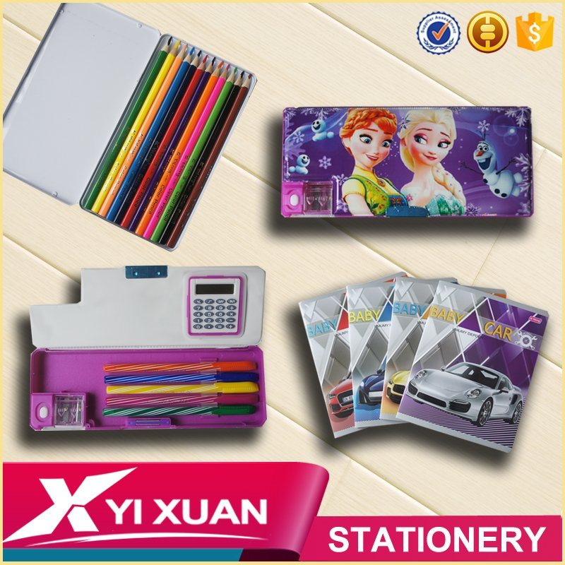 2017 Cheap Promotion School and Office Stationery Set
