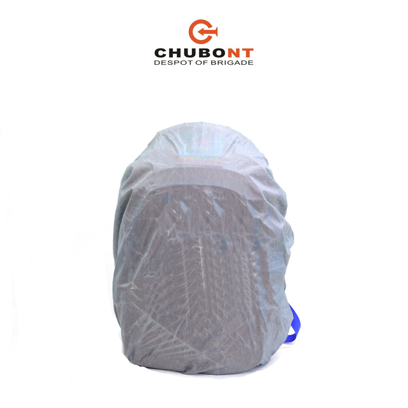 Chubont New Contrast Color Schoolbag Backpack Paded with Rain Cover