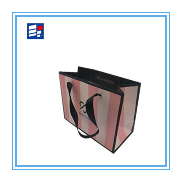 High Quality Paper Handle Bag with Custom Printing Logo