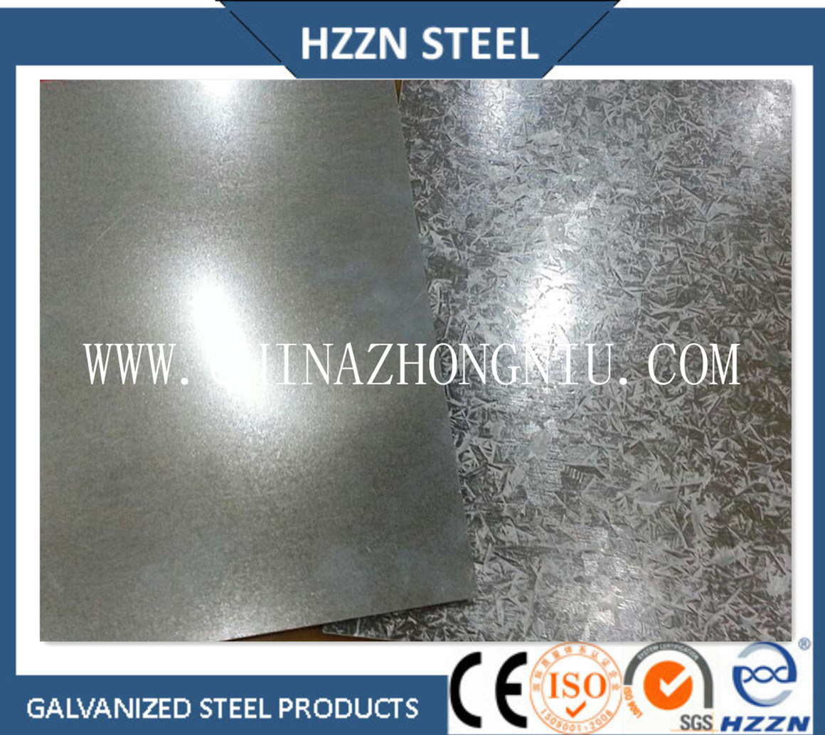 Bao Steel Gi Hot Dipped Galvanized Steel Sheet in Coil