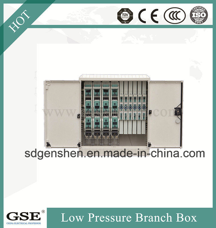 Fzx-01 Outdoor Water-Proof Low-Pressure SMC Glass Fiber Reinforced Polyester Power Distribution Cable Branch Box