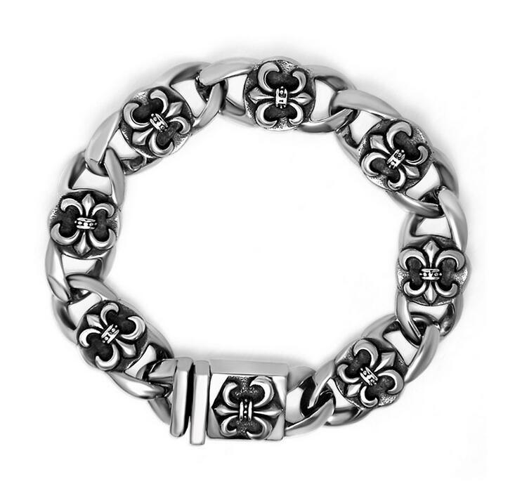 Women & Men Punk Style Bracelet Stainless Jewelry Fashion Accessories