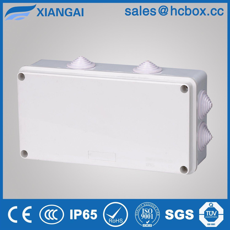 IP65 Waterproof Junction Box Waterproof Connection Box Hc-Ba200*100*70mm