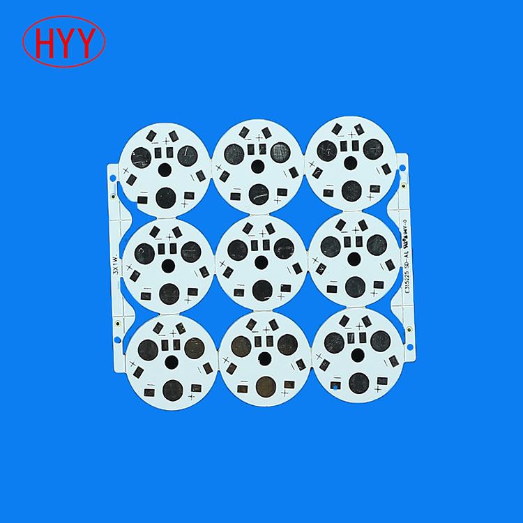 Aluminum COB LED Bulb PCB PCBA with Mirror ((HYY-128)