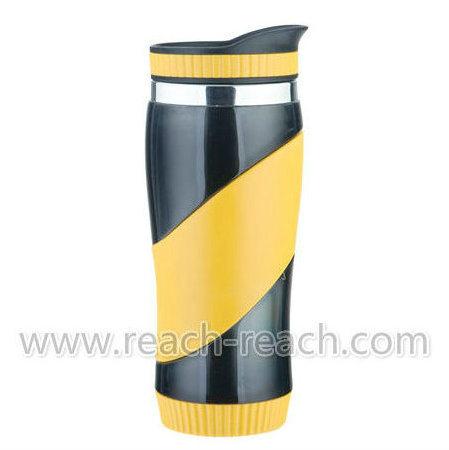 Coffee Mug, Car Mugs, Auto Mug, Stainless Steel Travel Mug (R-2041)