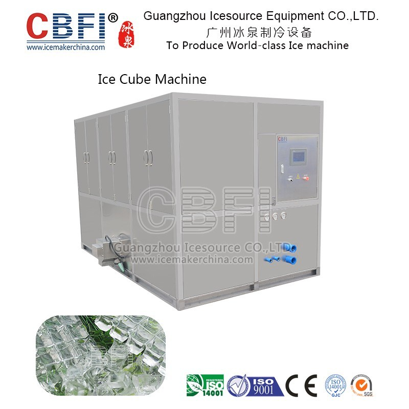 2 Tons Ice Cube Machine for Drinkings