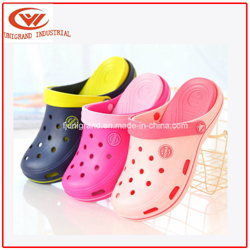 Fashion Design Summer Children EVA Clogs for Outdoor