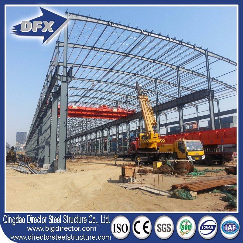 Industrial Prefabricated/Modular Metal Prefab Factory/Warehouse/Steel Building