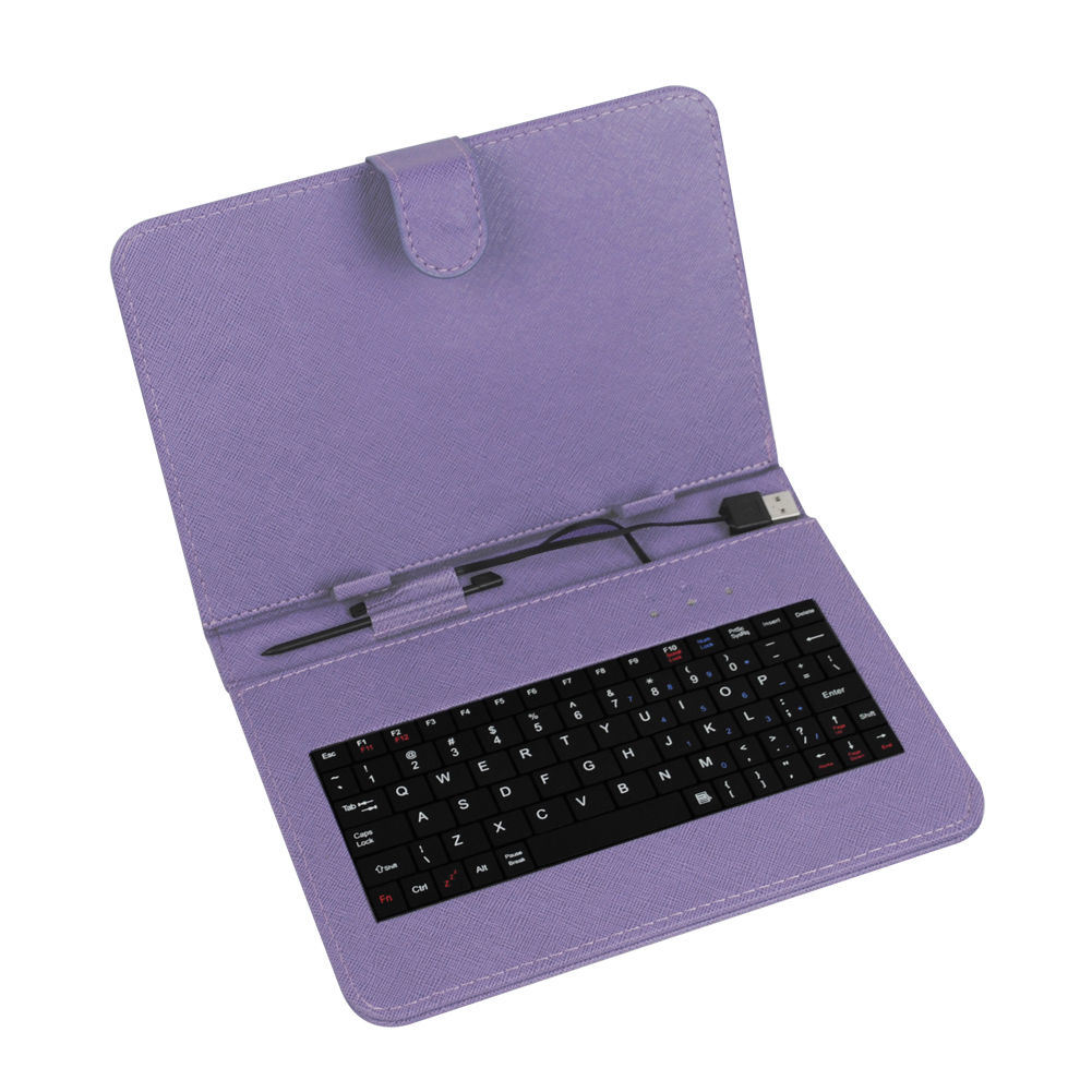 Purple Keyboard with iPad Cover for Sale