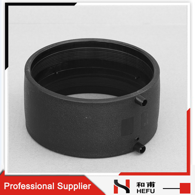 6 Inch Black Sewer PE100 Drainage Plastic PE Pipe Fittings