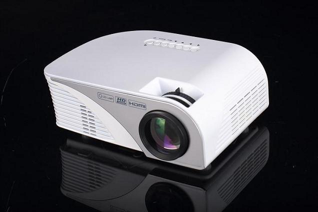 Yi-805b 1200 Lumens Android 4.4.4 WiFi LED Portable Mini Projector 3D for Video Home Cinema Theatre Movie