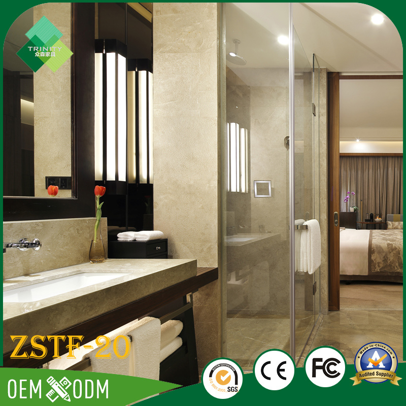 Modern Fashion Style Bedroom Set of Hotel Furniture (ZSTF-20)
