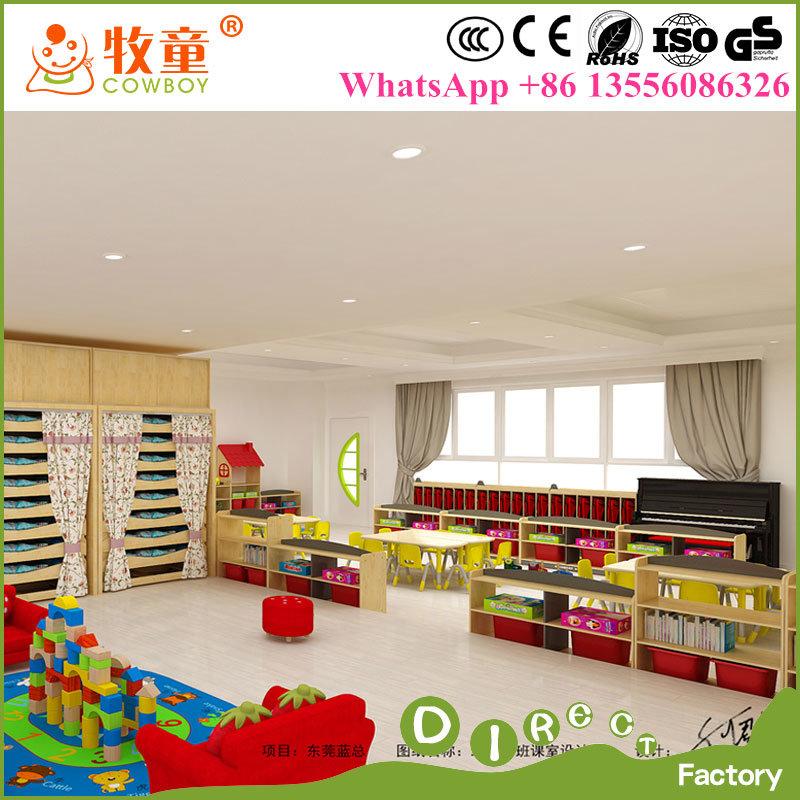 China Children Modern Wooden Daycare Furniture Daycare Center Furniture Supplier In China