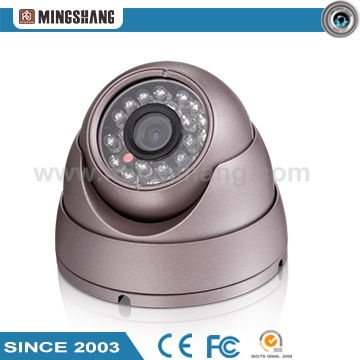 Dome Camera Comes with a Color CCD Lens