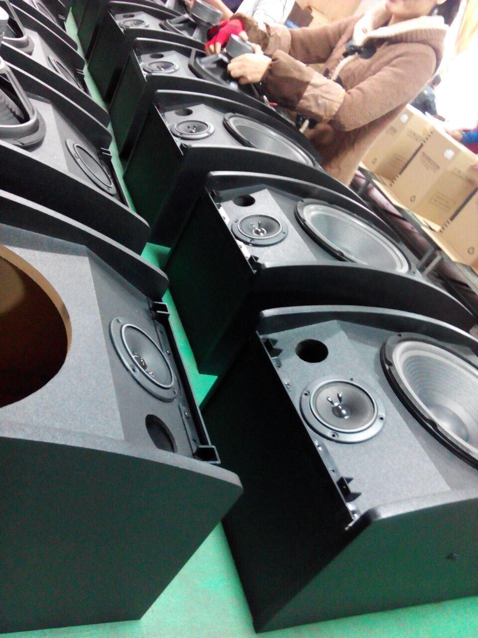 "Cheapest 100W 10"" Professional KTV Karaoke Audio Speaker System China"