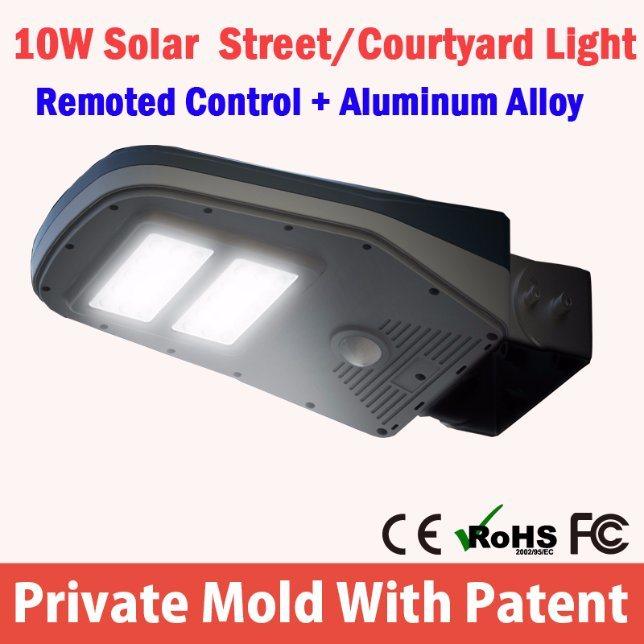 2016 New Outdoor Lighting Product High Brightness 16 LED Solar Power Garden Lamp Motion Sensor Solar Wall Light