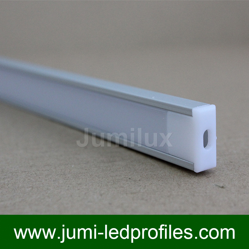 Flat Slim LED Aluminium Profile U Shape