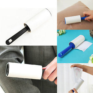 Dust Clothes Remover Plastic Handle Sticky Cleaning Lint Roller