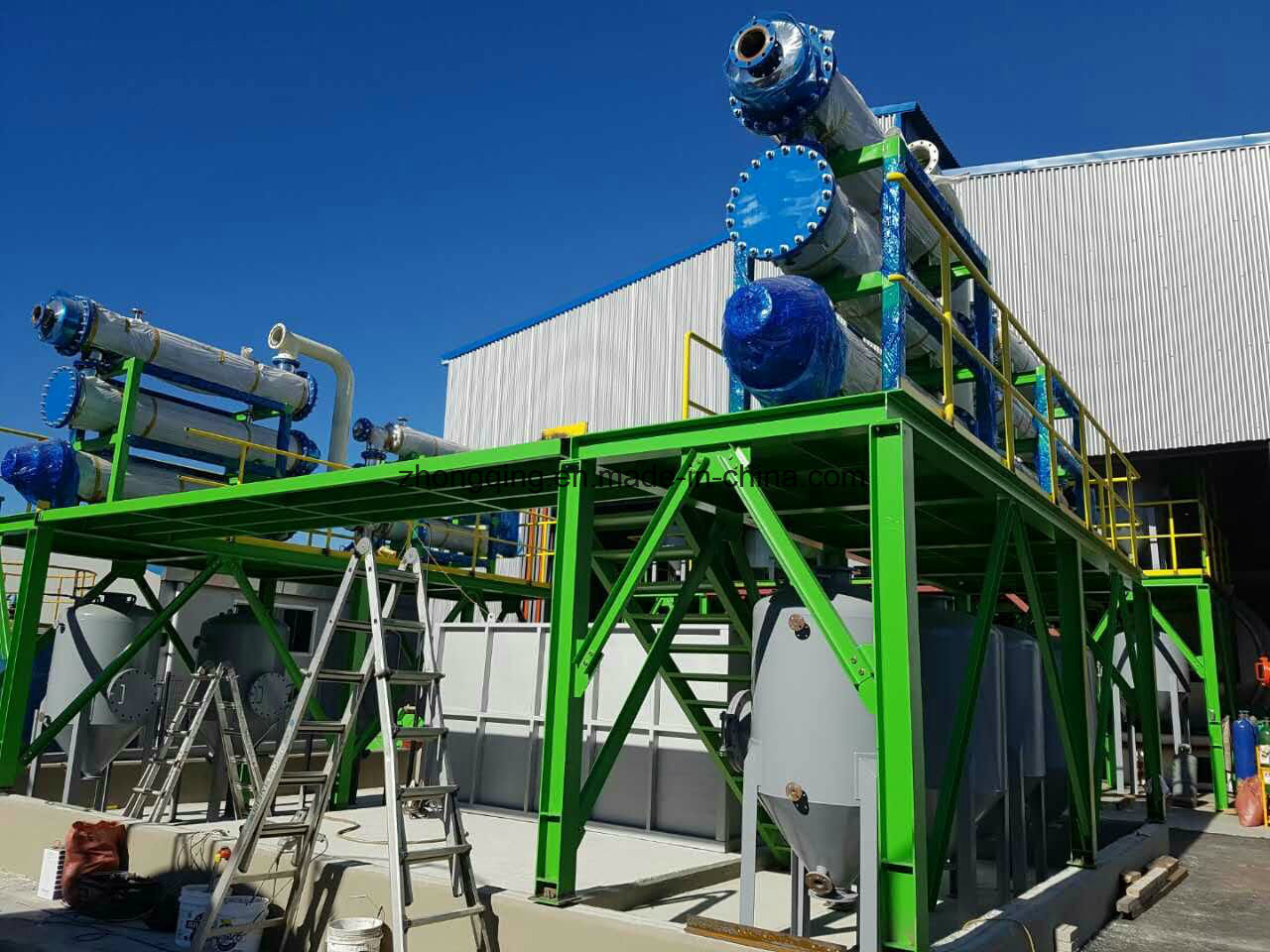 Hot Sale Waste Tyre Pyrolysis Plant with Ce and ISO No Pollution
