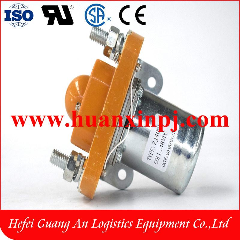 High Quality Assurance 48V Zj Series DC Contactor for Battery Zj400d