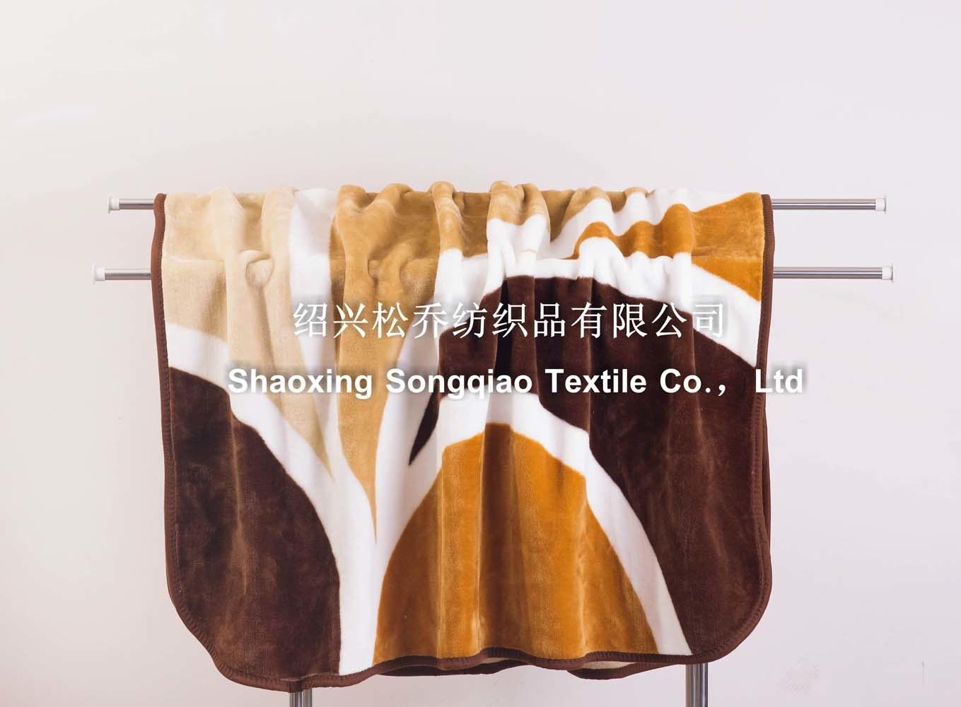 Raschel Blanket /Acrylic Printed Fleece Blanket