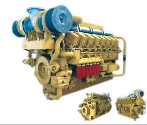Series 6000 Marine Engine (700~2200Kw) Water Cooled Lightweight Low Fuel Consumption