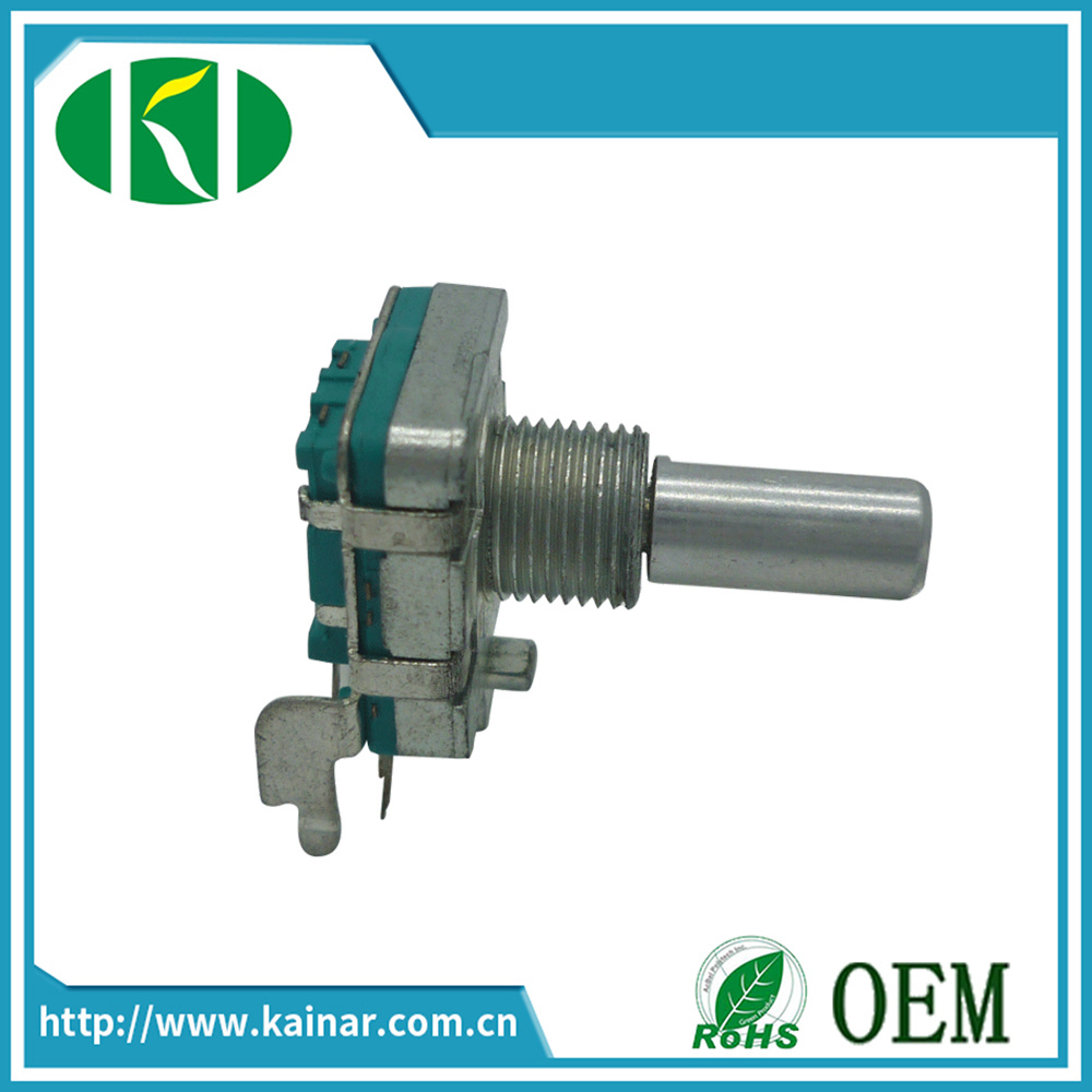 16mm Incremental Rotary Encoder with Switch Ec16-2b