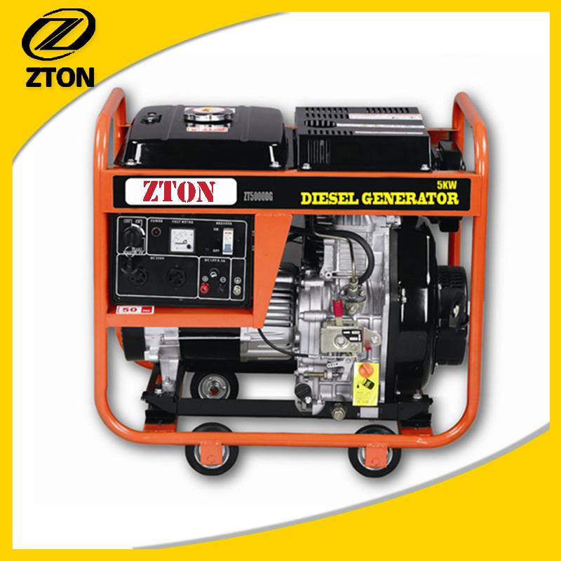 2.8kw-5kw Diesel Engine Single Phase Diesel Generator