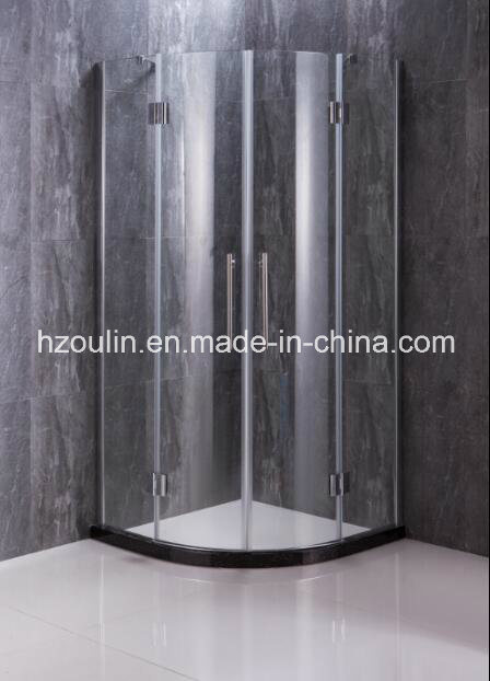 Simple Shower Enclosure with Hinge