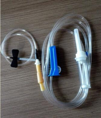 Disposable Medical Supply with Hypodermic Needle