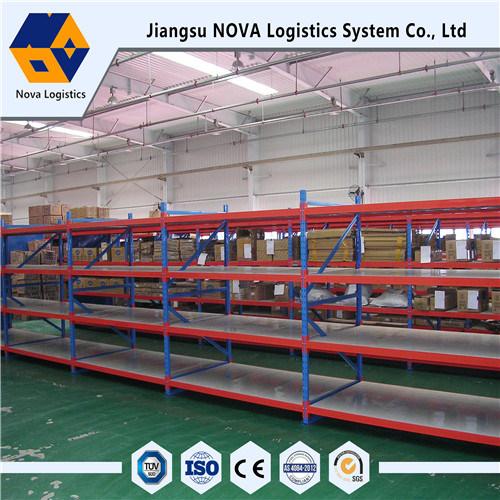 Medium Duty Long Span Storage Shelving with Setp Beam