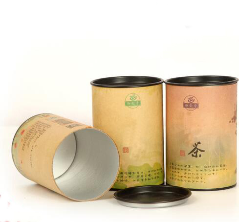 Paper Tube Cans Round Paper Packaging Design Gift Can