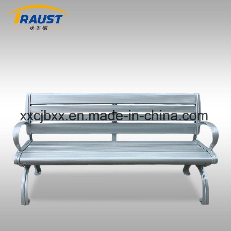 Wholesale Aluminum Material Community Garden Benches, Outdoor Furniture