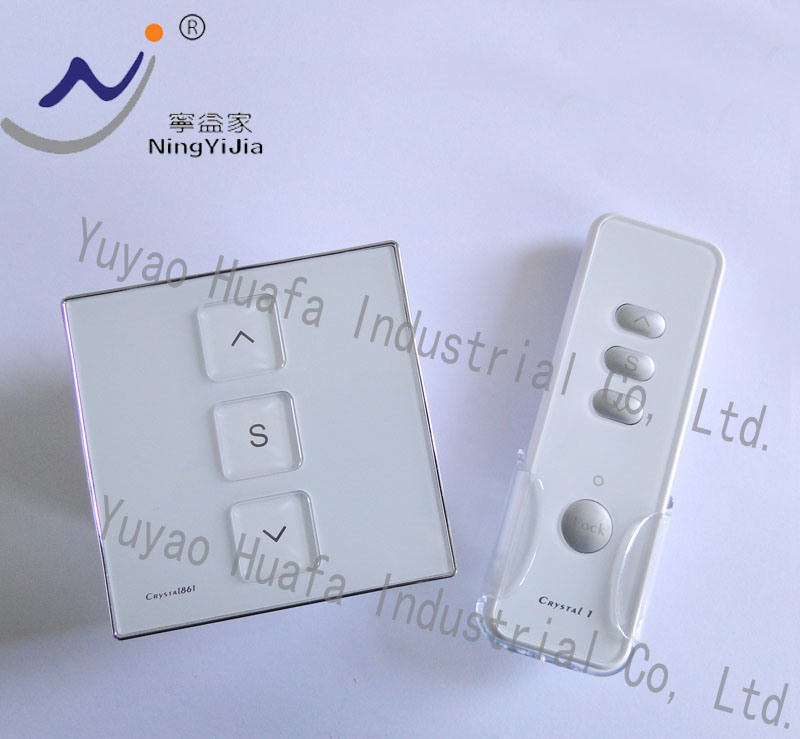 24VDC, Wall Switch and Remote Control (NEW) for Window Opener