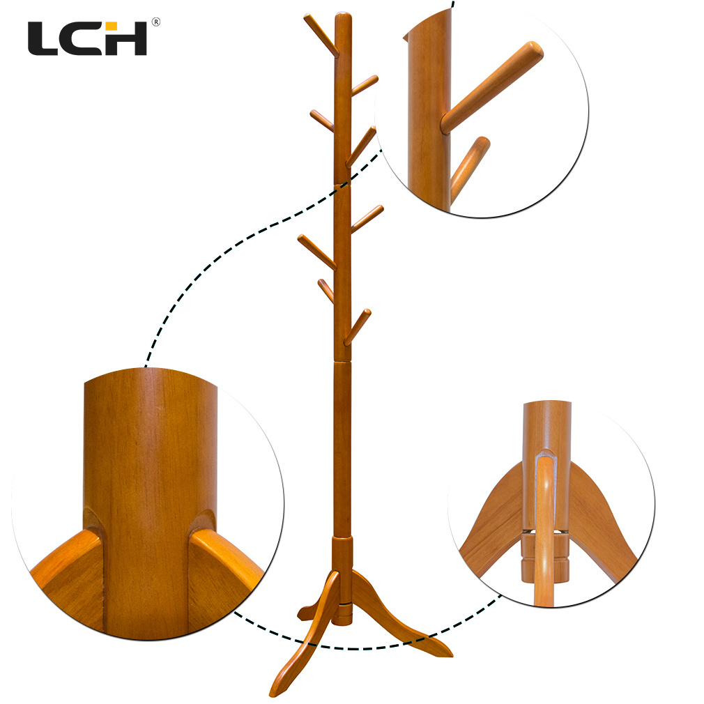 Modern Living Room Furniture Wooden Clothes Hanger Rack