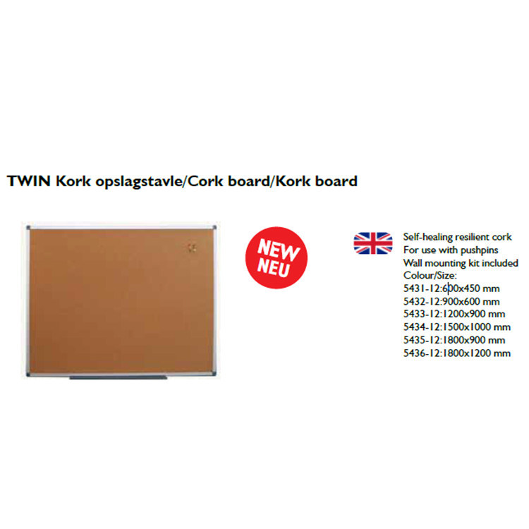 China Manufacturer New Cork Board OEM Whiteboard Notice Board