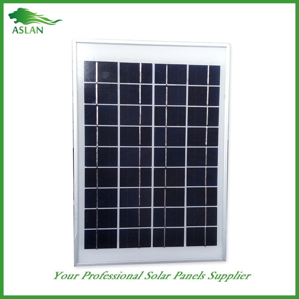 Small Poly Solar Panel 5W 9V/18V for Lighting Use