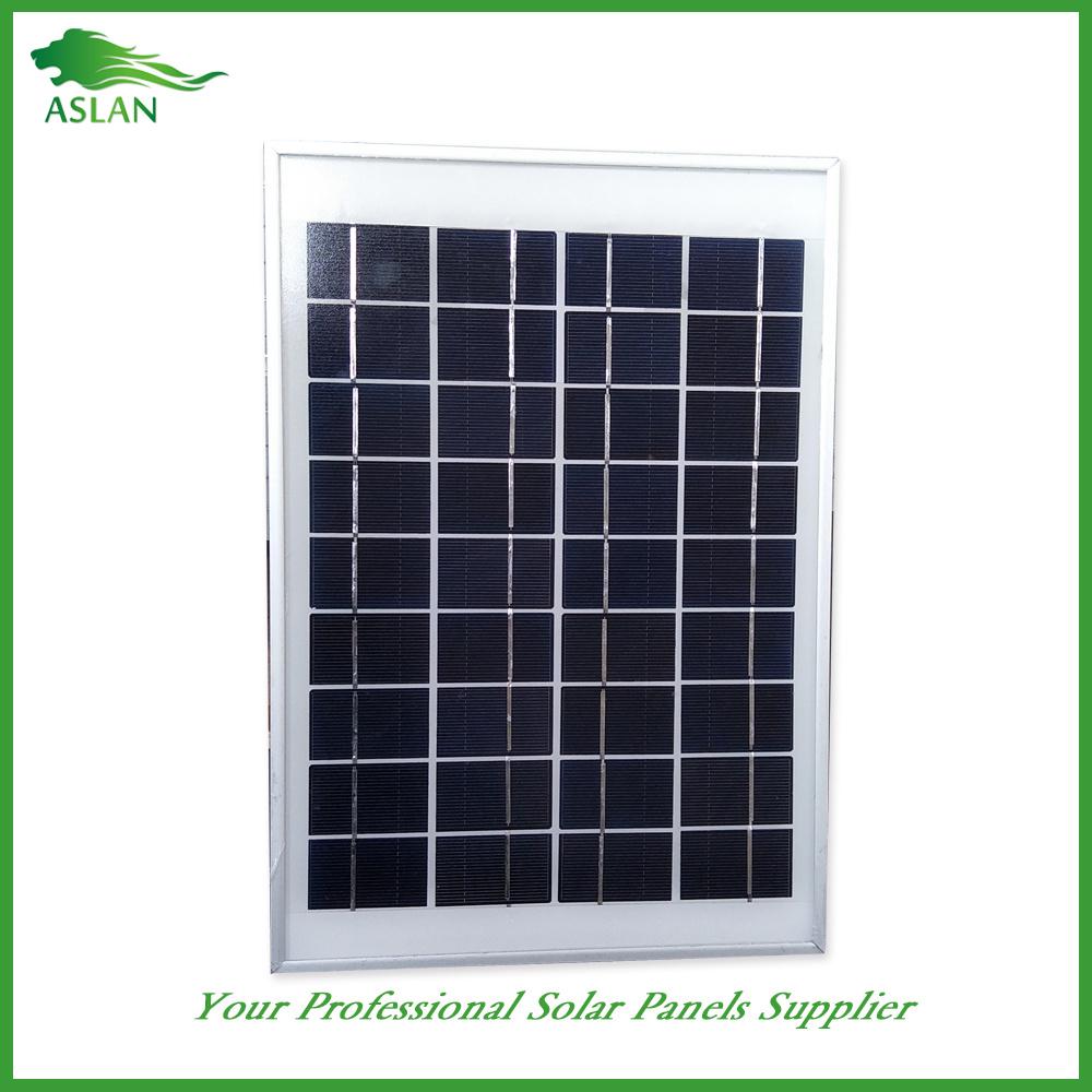 Small Poly Solar Power 5W 9V/18V for Lighting Use