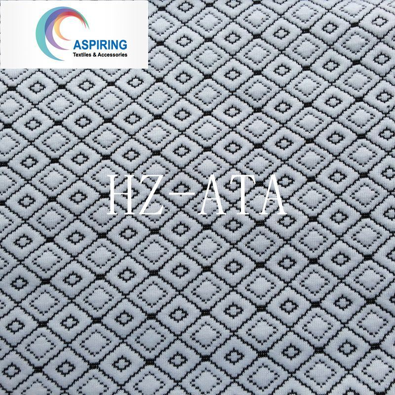 100%Polyester Knitted Jacquard Fabric