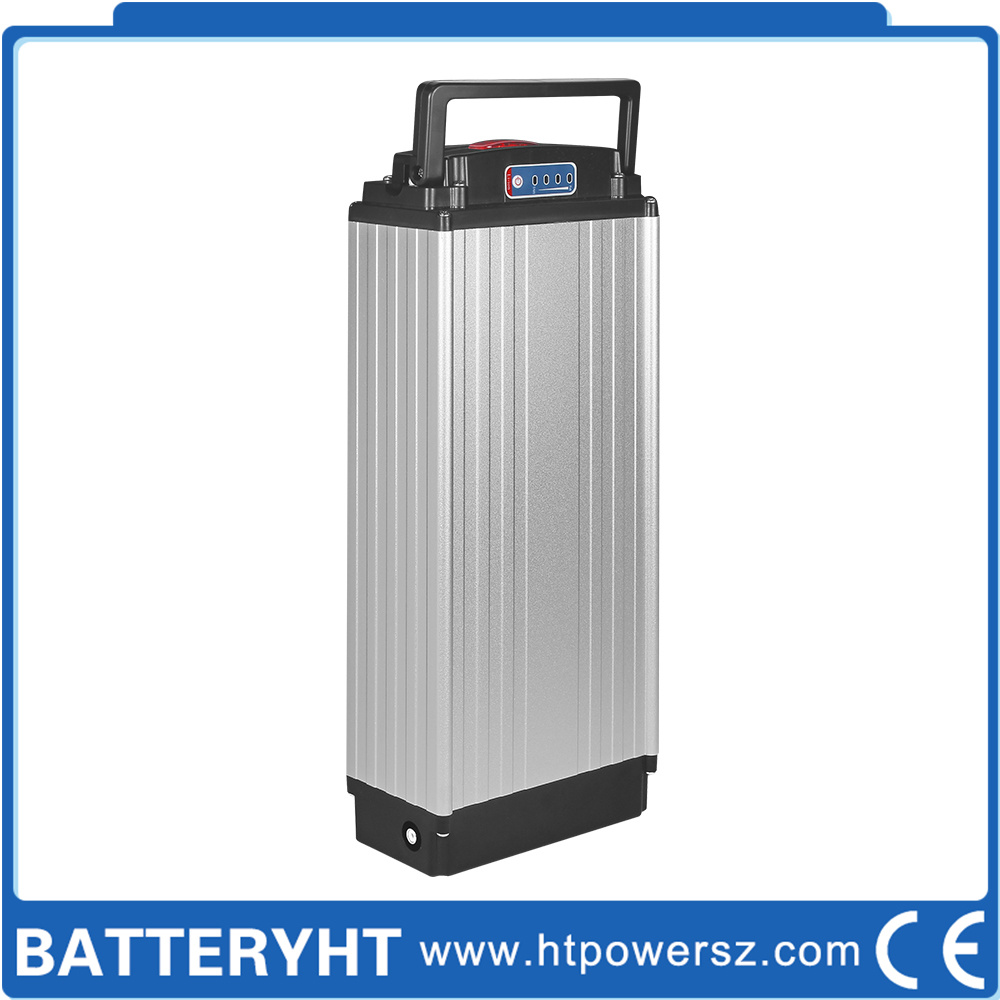Rechargeable Lithium/ Li-ion LiFePO4 Li-Polymer Bike Battery for Electric Bicycle