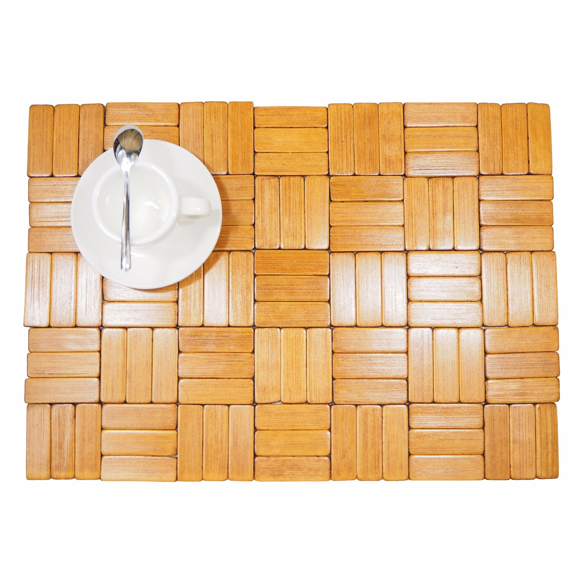 Bamboo Natural Placemat for Tabletop and Flooring