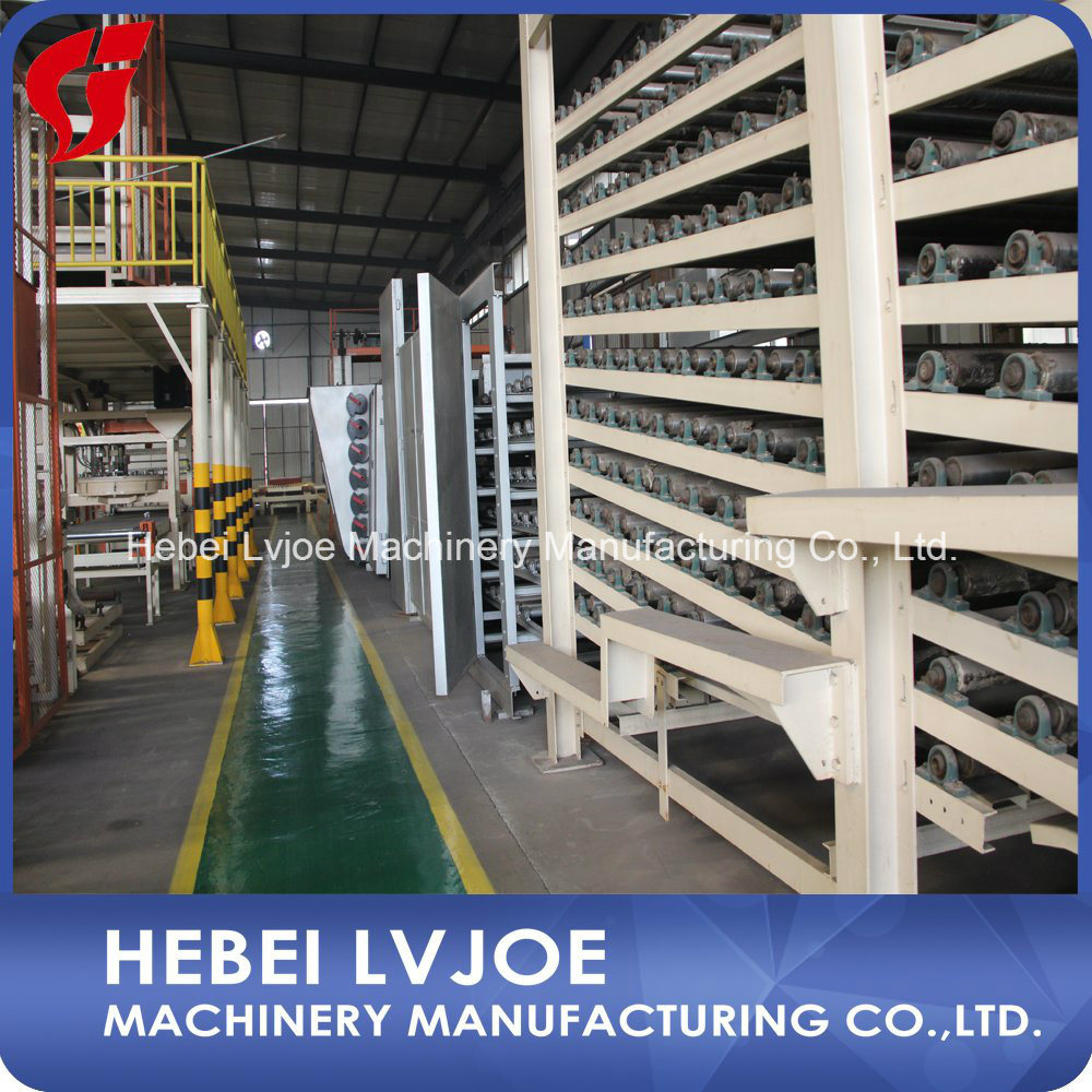 Low Price Hot Sale Gypsum Plaster Board Production Line Machinery for Building Material
