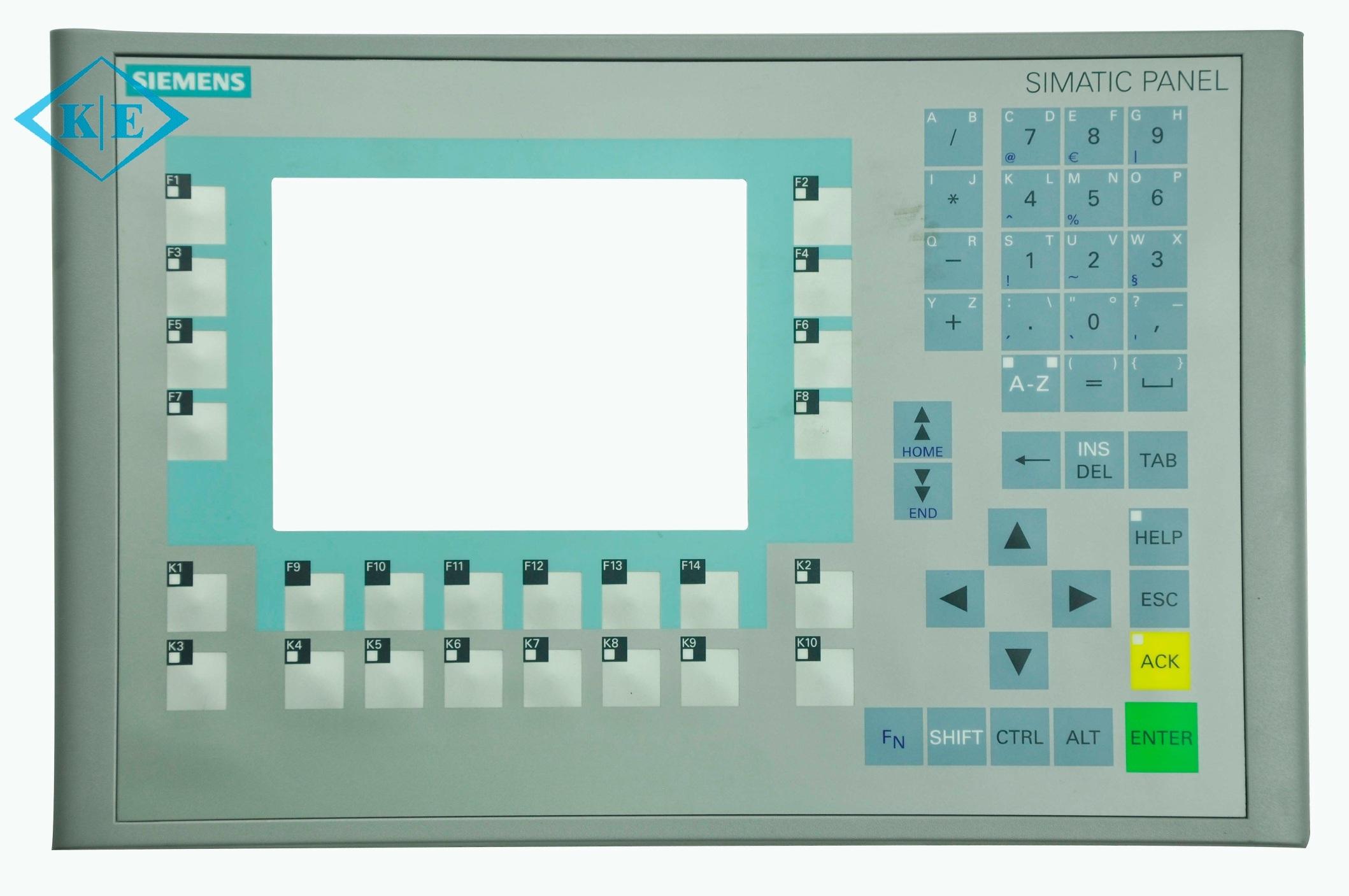 Siemens Metal Dome Membrane Keyboard with Plastic Back Panel