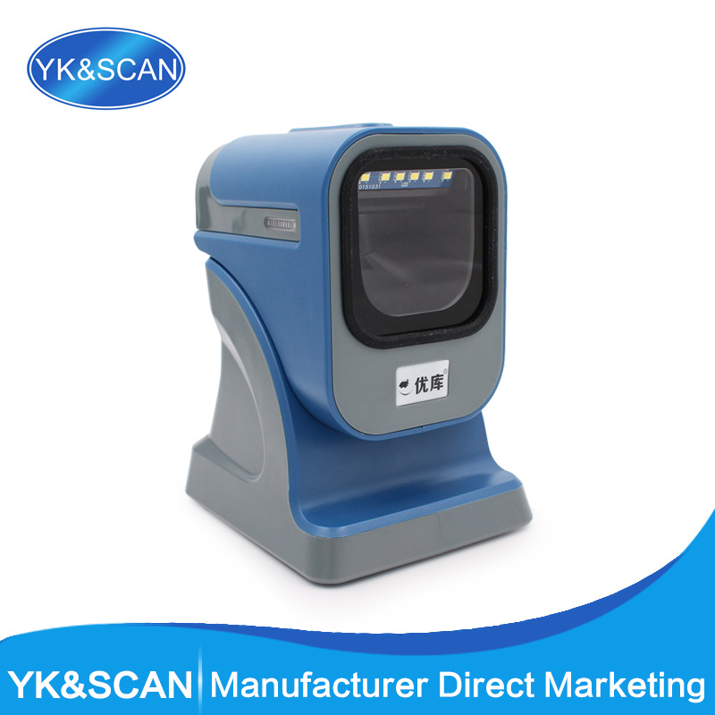 Yk-MP6200 China Supermarket 2D Barcode Scanner for Reading Qr Code